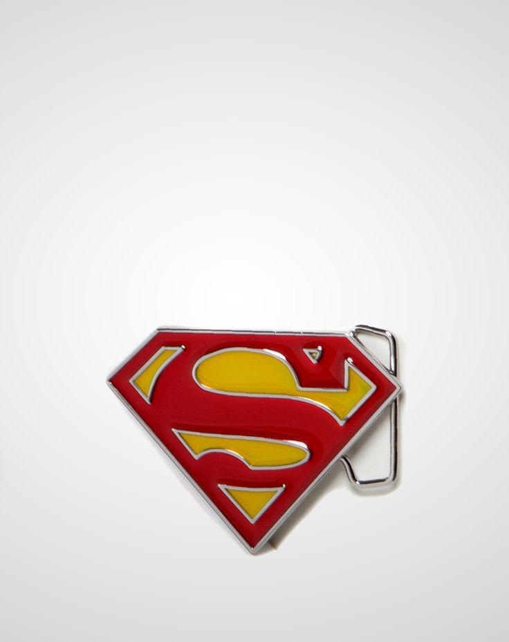 Superman Shield Belt Buckle