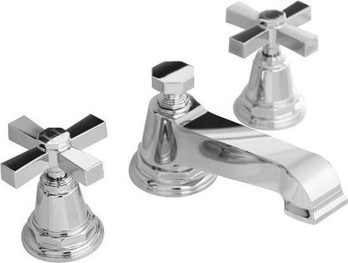 Kohler Vibrant Polished Nickel Pinstripe Pure Widespread Lavatory Faucet  With Cross Handles Of course I love the most expensive faucet I come across. 37 best Faucets images on Pinterest   Lavatory faucet  Widespread