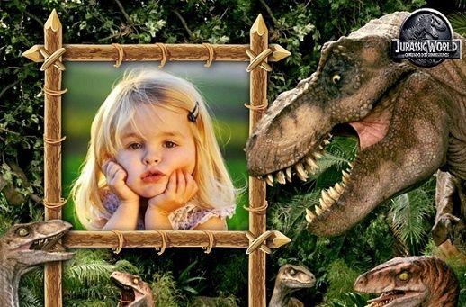 Marcos de Dinosaurios Jurassic Park