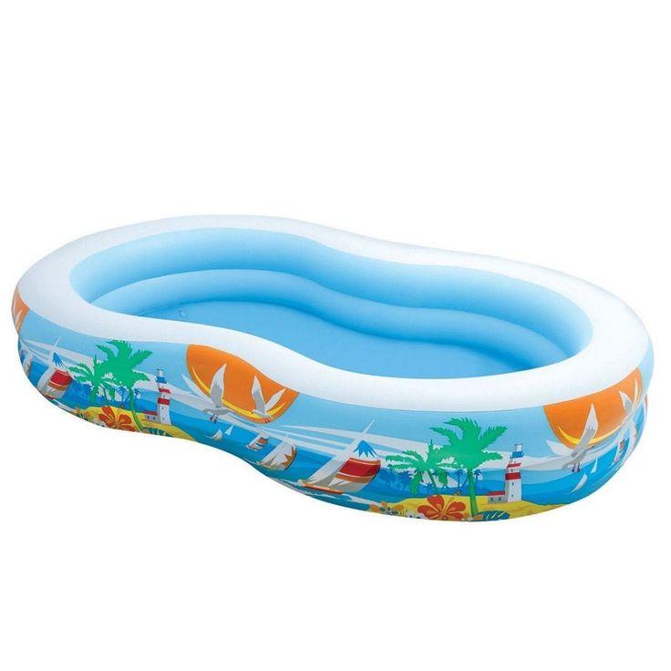 Les 25 meilleures id es concernant piscine gonflable sur pinterest piscine - Prix piscine gonflable ...