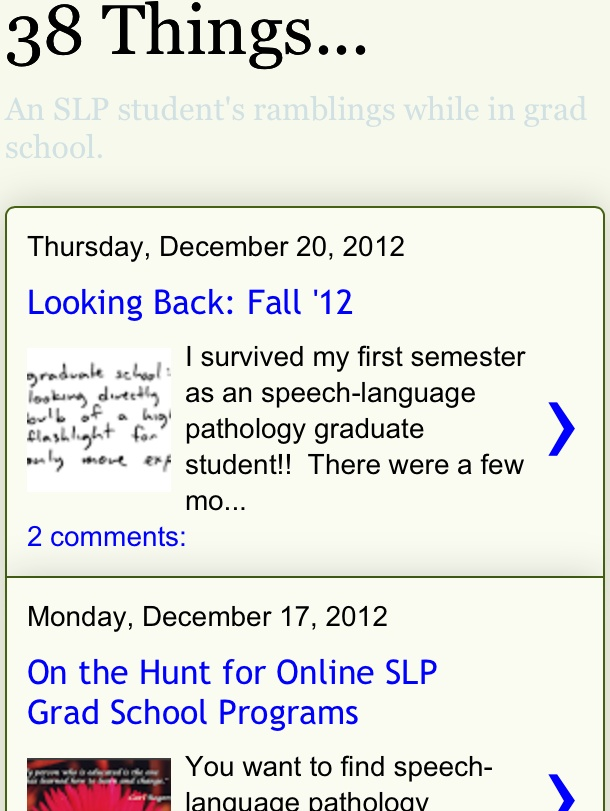 Speech pathology graduate school essays