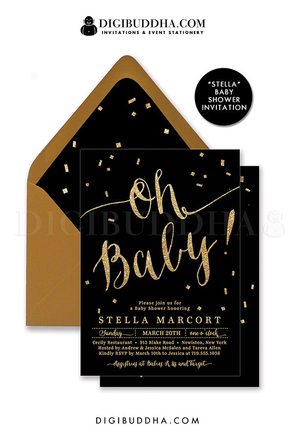 261 best images about baby shower on pinterest | twinkle twinkle, Baby shower invitations