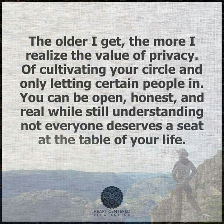 Learned this the hard way. Now I know, and my life is peaceful.