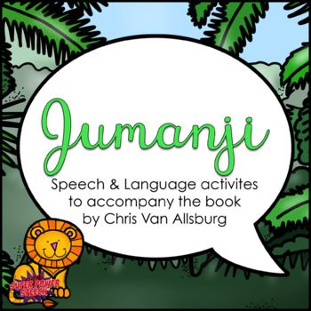 This unit is designed to accompany the story, Jumanji by Chris VanAllsburg. The book is not included in this download. The activities in this unit are designed to foster language and articulation skills while also learning from a great picture book. Do not miss out on this great opportunity to use one book for many different therapy goals.