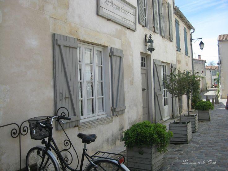 La Maison Douce, St Martin en Ré (Ile de Ré) Budget ++