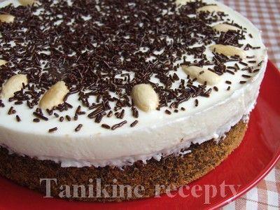 Makovo - citrónová torta