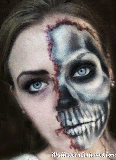 skull makeup for Halloween » Halloween Costumes 2013