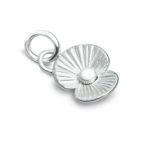 This sterling silver Poppy charm means 'Remembrance', but it's also been a popular charm for anyone with a little girl named 'Poppy'