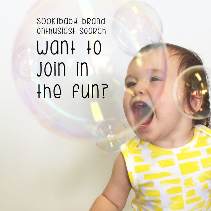 SOOKIbaby Brand Enthusiast Search now on! Want to Join in the Fun? Head to www.instagram.com/ilovesookibaby