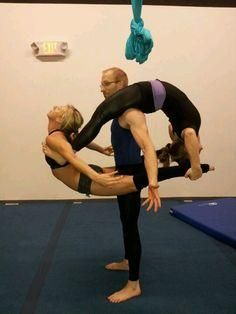10 images about acro group on pinterest  yoga poses