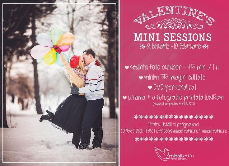 Surprinde-ti jumatatea de Valentine's Day, fa-i cadou o sedinta foto speciala ! Info: (0755) 286 438   office@mihaitrofin.ro   www.mihaitrofin.ro
