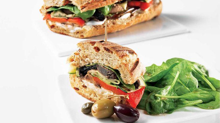 Italian-Style Vegetarian Club