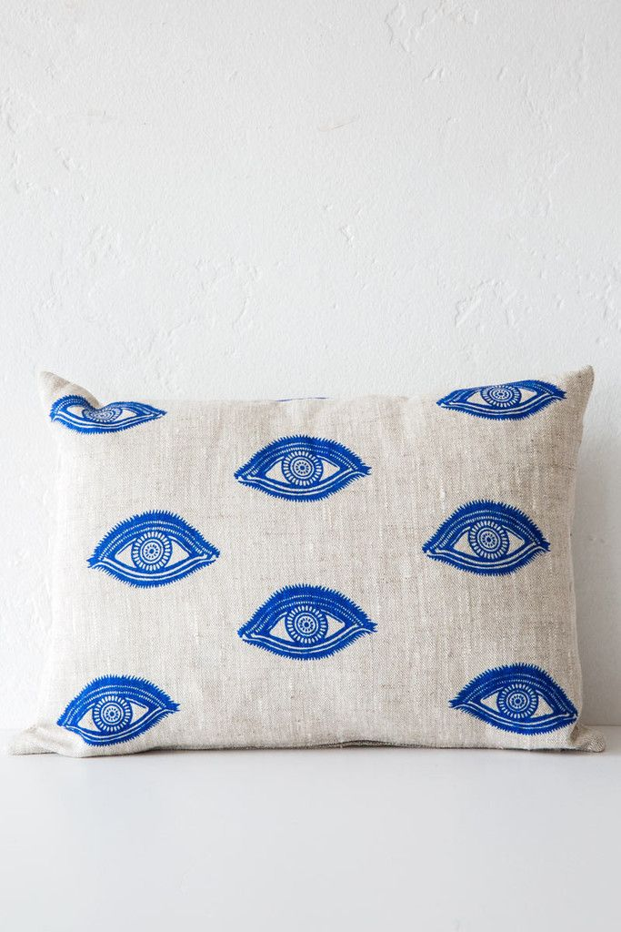 lucky fish 'I see you' pillow – Lost & Found