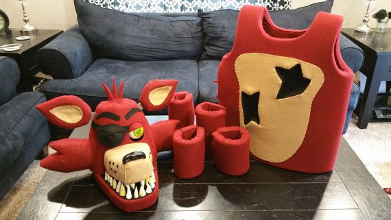 Foxy The Pirate Costume Mask Five Nights At By