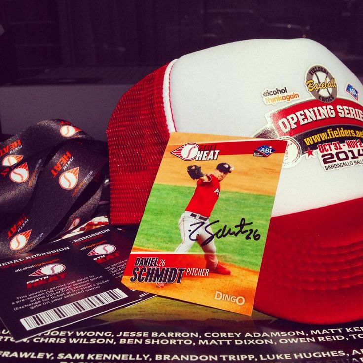 Spoil your Dad this Father's Day with a special Perth Heat present! For only $100 he will receive 4 x Family Passes for the upcoming season, PLUS a Signed Hat, Signed Player Card and a couple other goodies. Limited quantities available, email admin@perthheat.com.au or call the office to secure yours now!