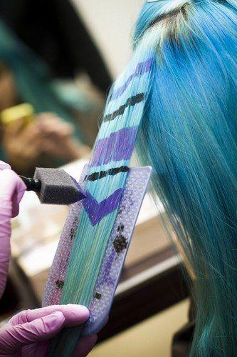Boho-Frisuren - cooles Indianer-Muster für die Haare www.gofeminin.de #coachella…