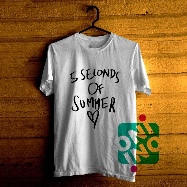 5 Seconds of Summer Love Tshirt For Men / Women Shirt Color Tees
