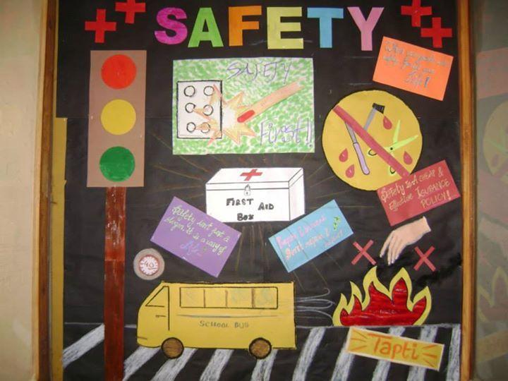 Senior School Activities: Inter House Soft Board Decoration