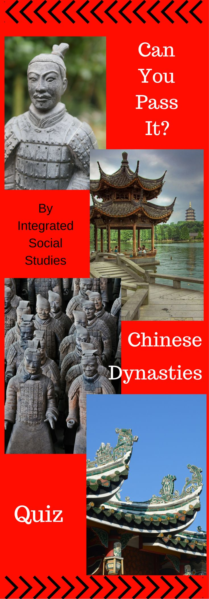 You teach it so you better be able to pass it. Test yourself on Chinese Dynasties! Use in Asian history or world history classes. The best part is you can reuse the quiz on your students at the end of the year!