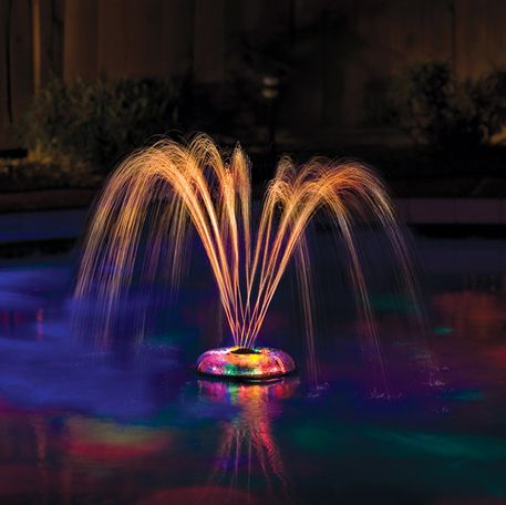 This psychedelic light show: | 13 Crazy Pool Accessories That Totally Redefine Cool