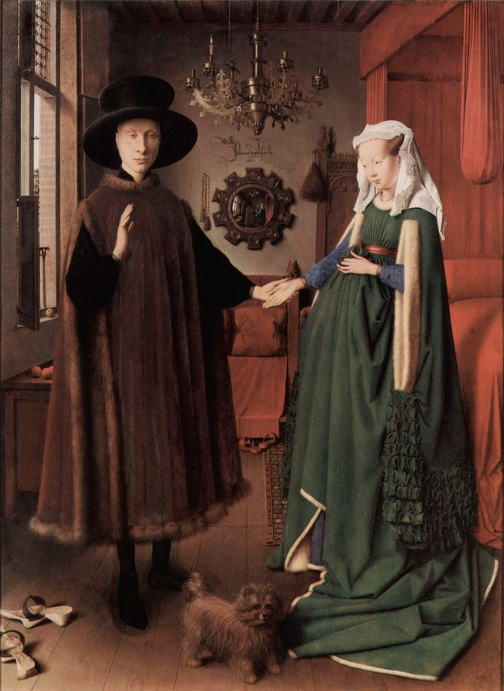 Jan van Eyck - Os esponsais dos Arnolfini (1434)