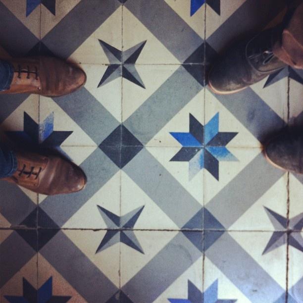 mosaico hidráulico by Rosa Pomar, via Flickr