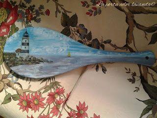 La Porta Color Lavanda: Il mare del Nord...