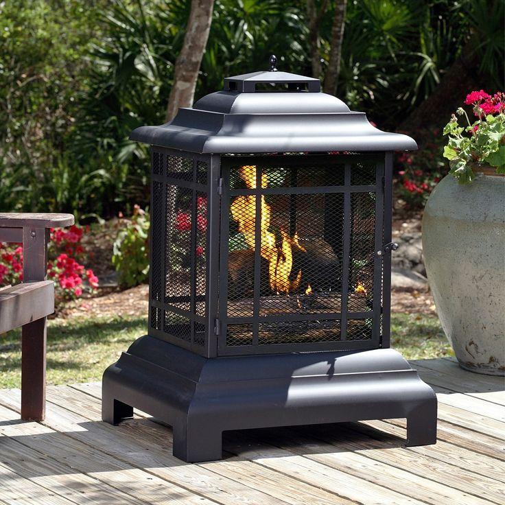 Pagoda Outdoor Fireplace