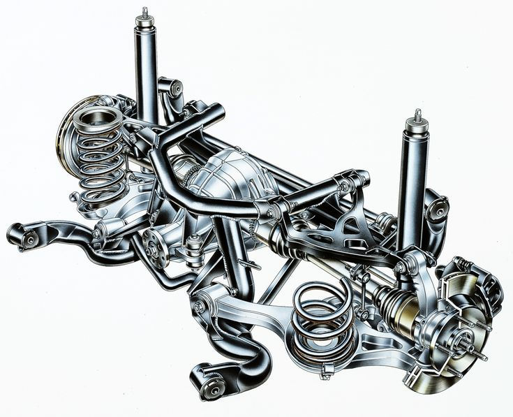 1999-2004 Ford SVT Mustang independent rear suspension (IRS)