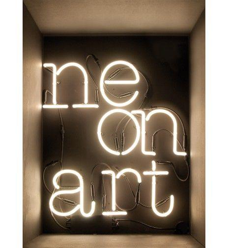 neon letters // fleux, paris