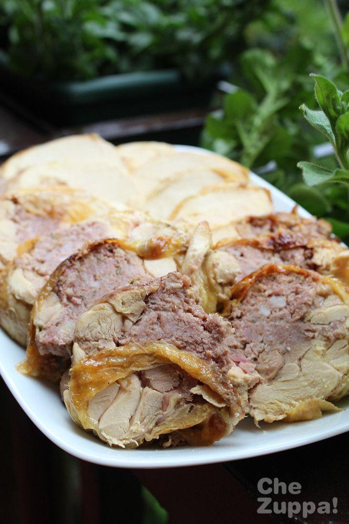 Stuffed Chicken roll | Rotolo di pollo ripieno | Chezuppa!