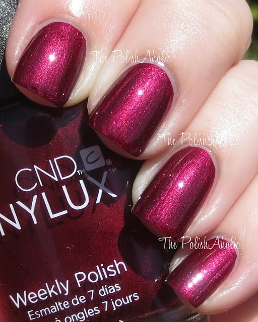 CND Vinylux Masquerade love it. Just came in the mail today!! Can't wait to try it!!