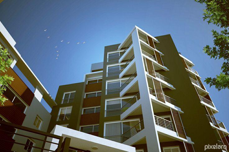 Centenario Building. #Architecture #MaxwellRender #Rendering #3d #Blender3d #Render