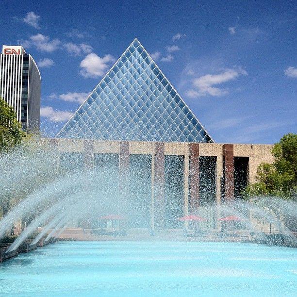 It must be spring! Edmonton City Hall