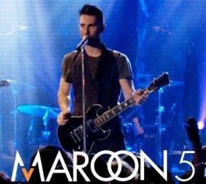 Maroon 5 live in concert in Abbotsford, BC