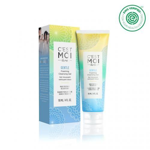 C Est Moi Gentle Foaming Cleansing Gel Skin Deep Cosmetics Database Ewg Cleansing Gel Fragrance Free Products Gel Cleanser