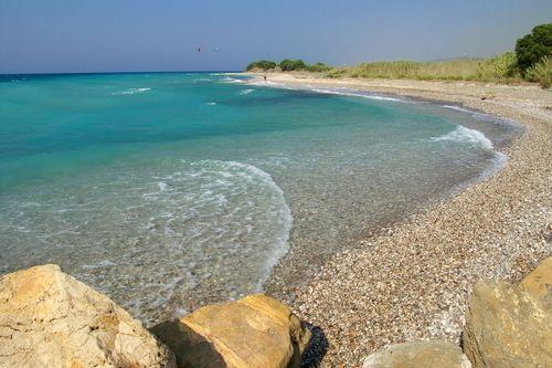 Theologos Beach, Rhodes, Greece