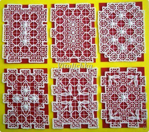 Карточка АТС Материалы и инструменты Вышивка АТС Филейно-гипюрная вышивка  Закрыта Нитки фото 1