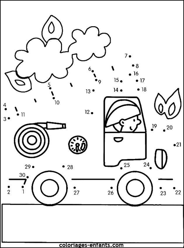 (2015-12) 30 prikker, brandbil