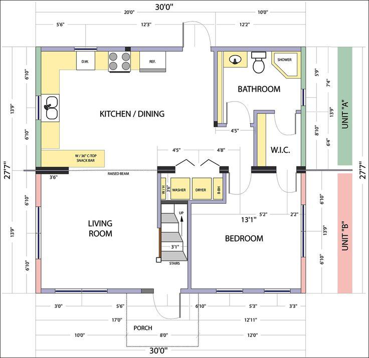 Bungalow Round Floor Plan Interior Design Ideas