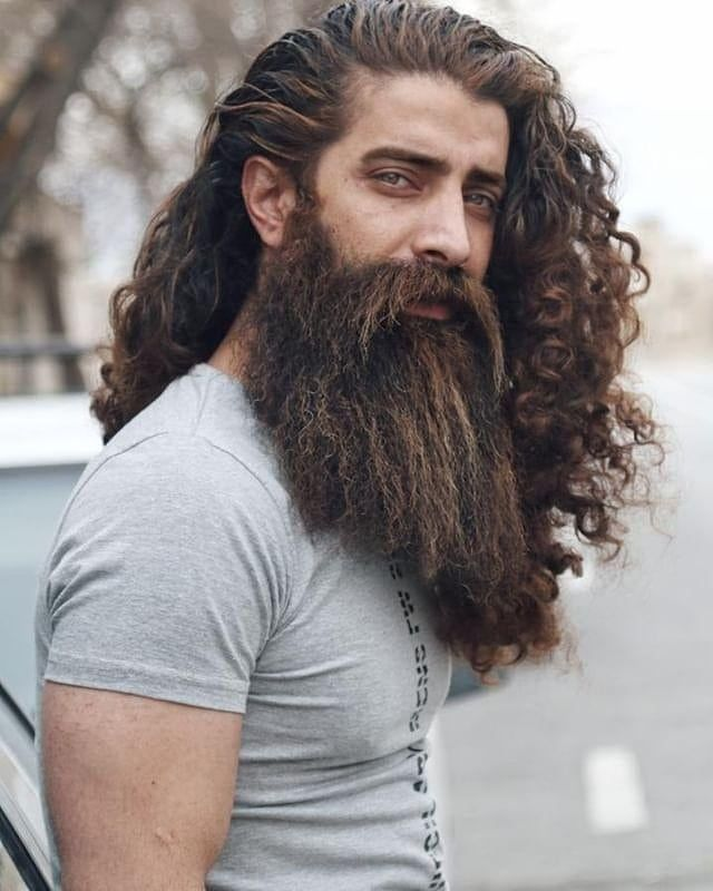 Beard Of The Da Long Hair Beard Hair And Beard Styles Long Hair Styles Men