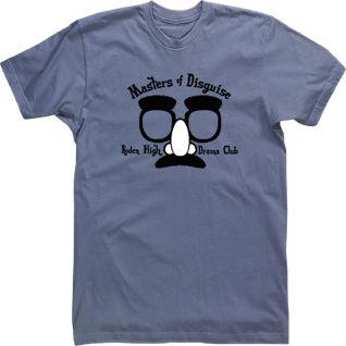 Masters Of Disguise Custom Drama High School T Shirt Tees Tshirt Design