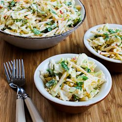 Recipe for Apple-Jicama Slaw with Sweet and Spicy Sriracha Dressing ...