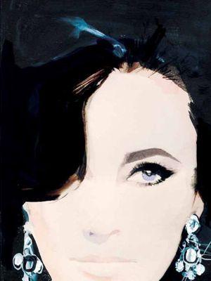Love: Inspiration, Elizabeth Taylors, David Downton, Art, Elizabethtaylor, Daviddownton, Liz Taylors, Drawing, Fashion Illustrations