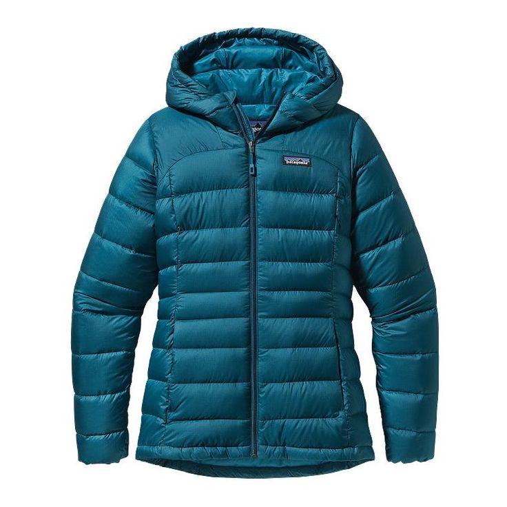 Patagonia Women\'s Hi-Loft Down Sweater Hoody - Crater Blue CTRB