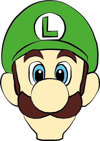 Similar Galleries: Luigi Drawing , Mario And Luigi ,