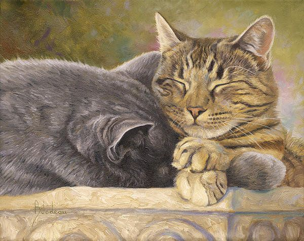 The Nap by Lucie Bilodeau