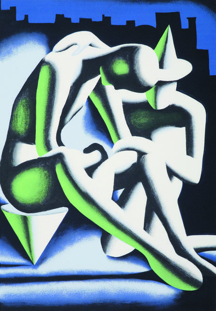Mark Kostabi | Best Buddies (1992) | Available for Sale | Artsy