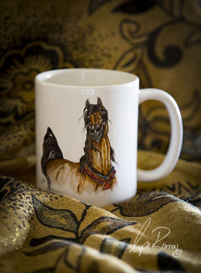 Ever After NA Arabian Horse Art Mug