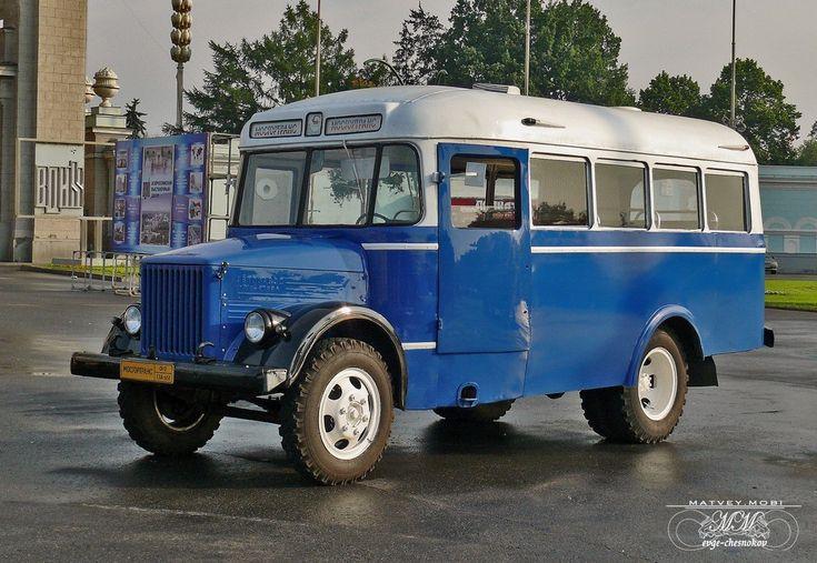 ГЗА-651 выпускался в 1949-1958 гг. и использовался как служебный автобус. Советским школьникам наверняка запомнился как непременный атрибут летнего пионерского лагеря.